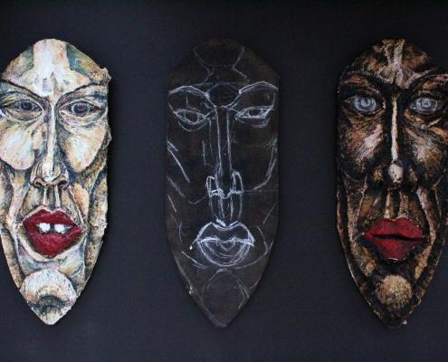 Medusa, 2016, 160 x 70 aprox, EUR 6.000,- each